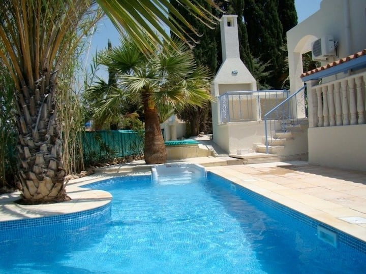 "Luxury 4-5 bedroom sea front villa ""Neyla"""