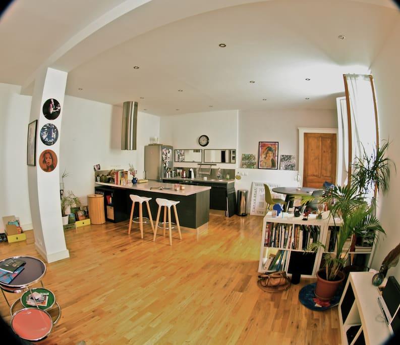 loft quartier gare europole lofts for rent in grenoble auvergne rh ne alpes france. Black Bedroom Furniture Sets. Home Design Ideas