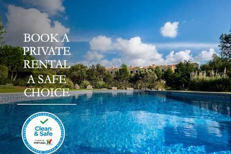 Beautiful Villa Guincho w/shared pool - atjoanas