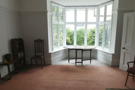 Spacious Garden Flat in leafy, quiet private road.