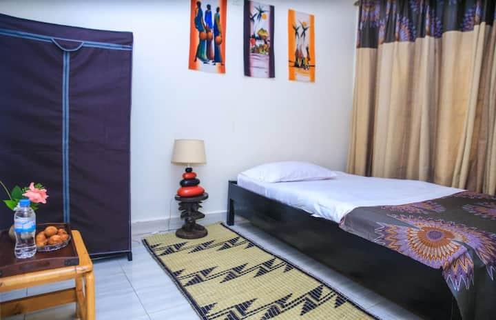 Batik chambre d hôte (lit simple)