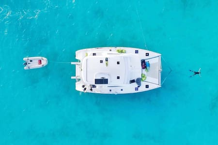 ALL-INCLUSIVE CREWED CHARTER Catamaran
