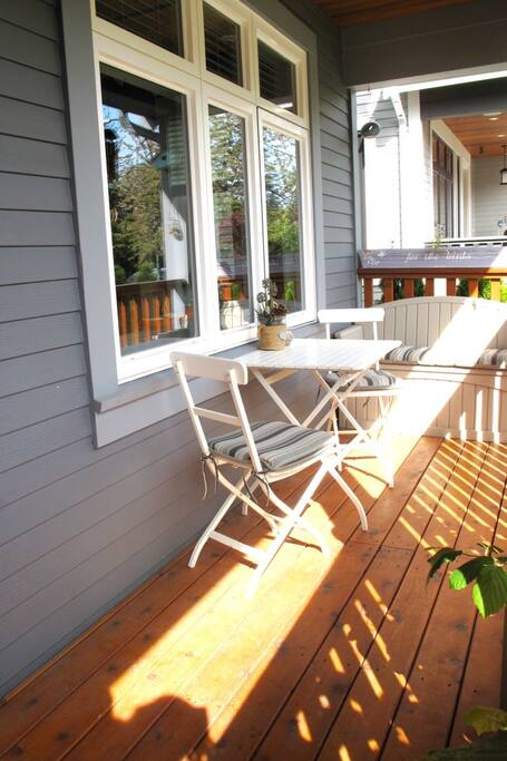 Sunny South-Facing Front Porch