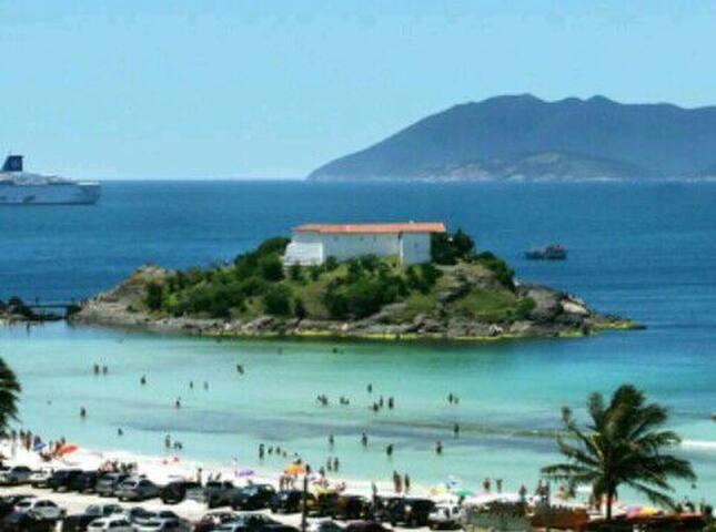 Casa de praia Cabo Frio, Centro, Praia do Forte
