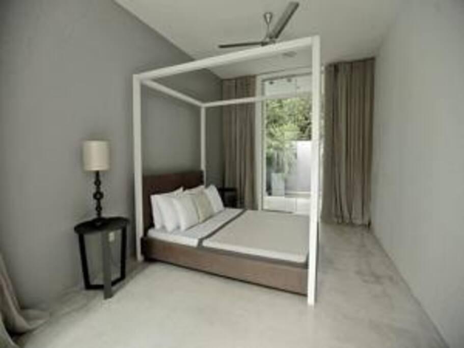 Double Bedroom with Outside Bathroom