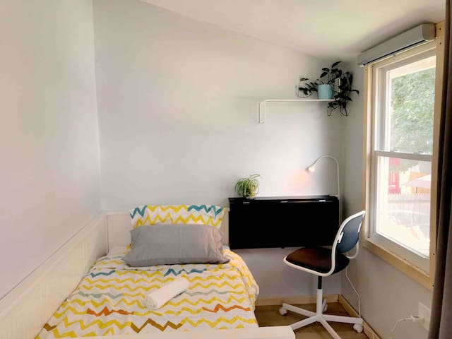 🏠 bright and airy rm nearRevere beach/mbta/parking