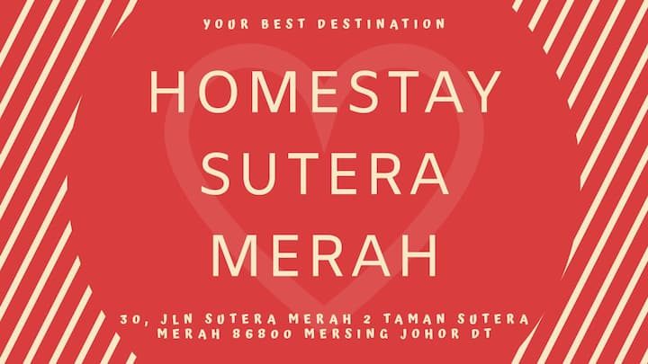 Homestay Sutera Merah, Mersing