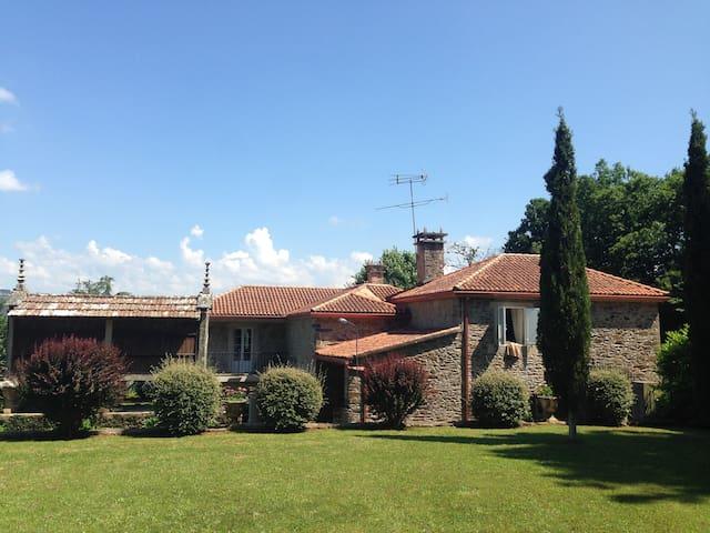 Casa Rural,Camino de santiago a 30 km de Santiago