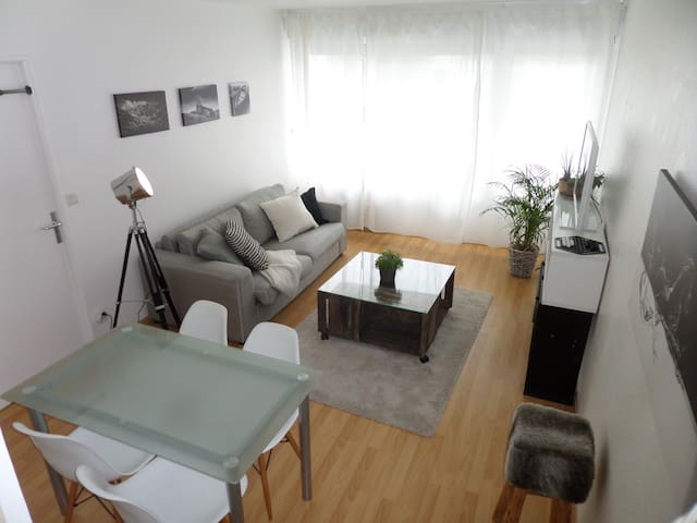 Appartement Scandinave proche Cathédrale - Reims - Apartament