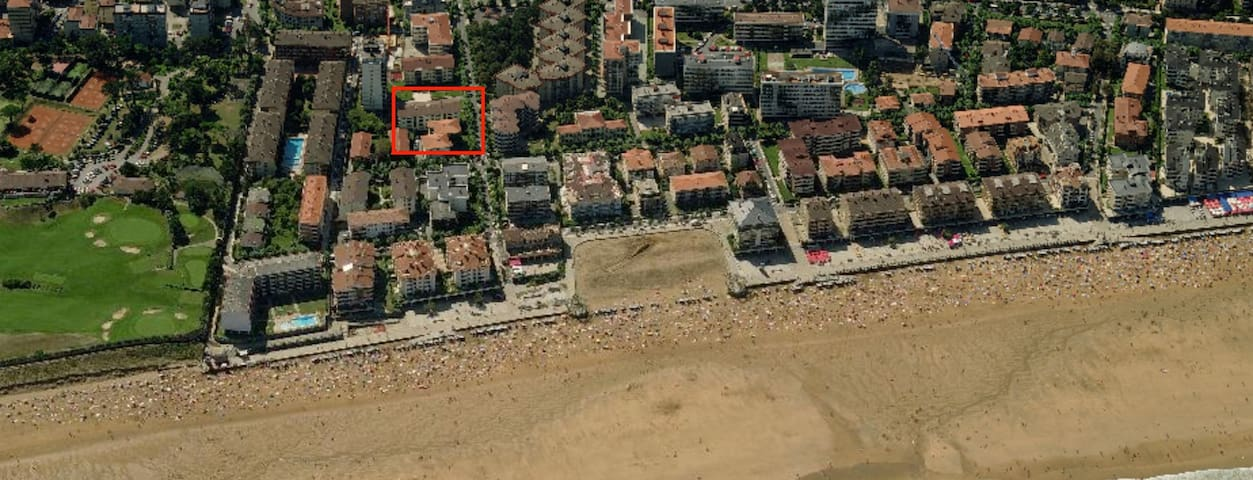 Apartment 50 from the beach - Zarautz