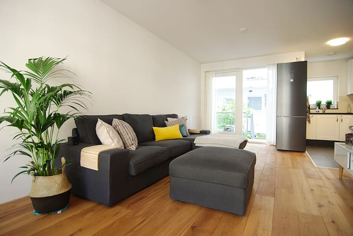 Great apartment close to city centre with garden