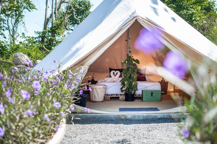 Sonder Private Tent - Shared Bathroom