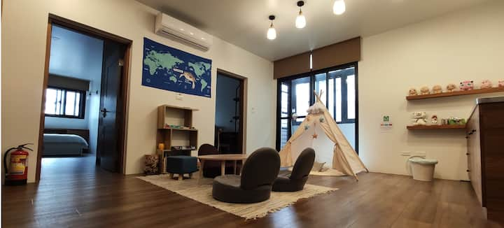 Cozy&Relax private rooms at Yilan City for 2-5 ppl