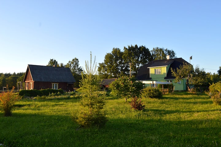 Farmhouse next to nature reserve