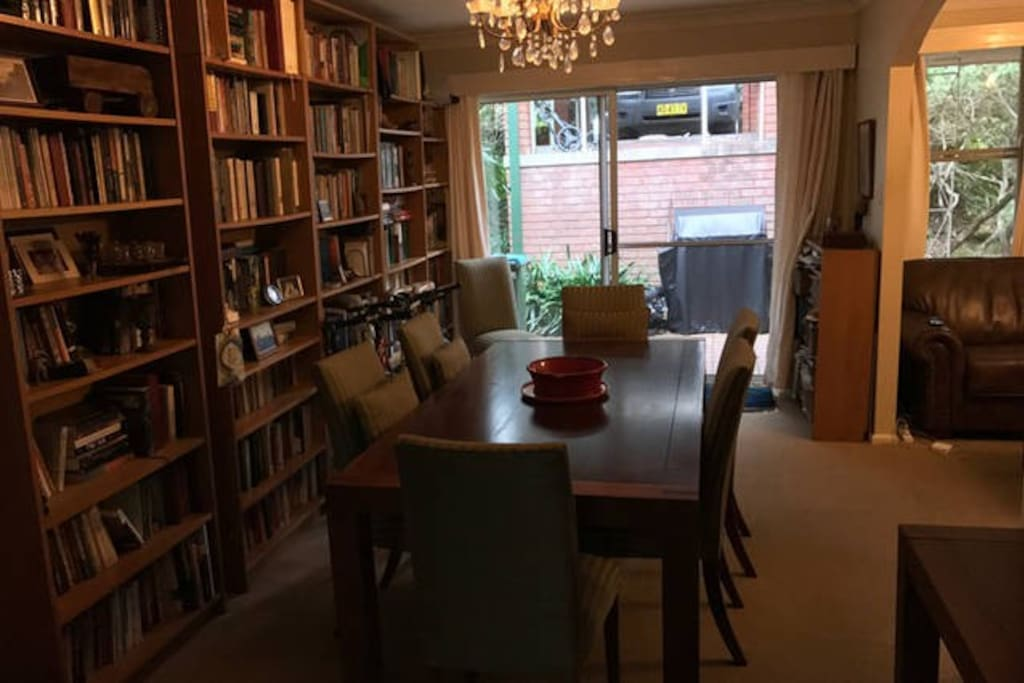 Library/ dining room