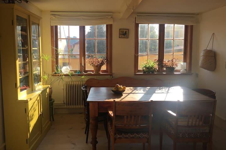 Bright and spacious house in Svaneke