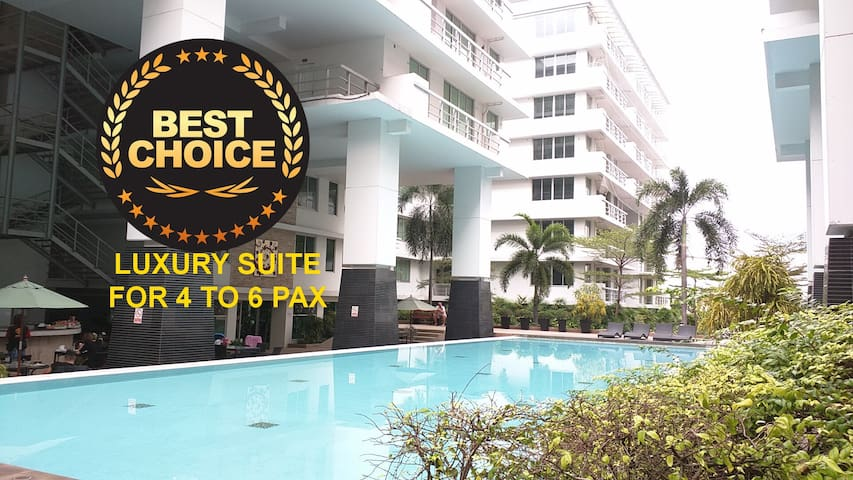 80sqm,Sukhumvit 2BR/2Ba,Wifi,TV,Big Pool near BTS - Bangkok - Pis