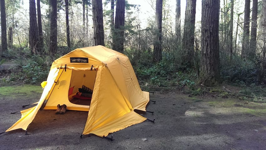 Tranquil Escape Near Town (TENT) - Chehalis