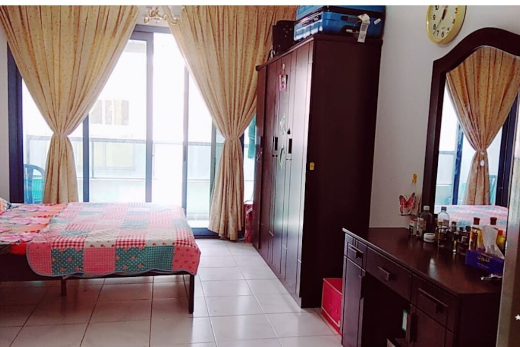 Master Bedroom With Attached Bathroom And Balcony Apartments For Rent In Dubai Dubai United