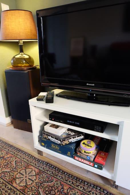 Télévision + de 120 chaînes