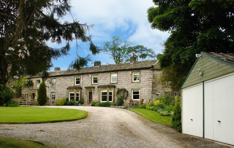 Raygill House, Lothersdale near Skipton, N. Yorks - Lothersdale - Hus