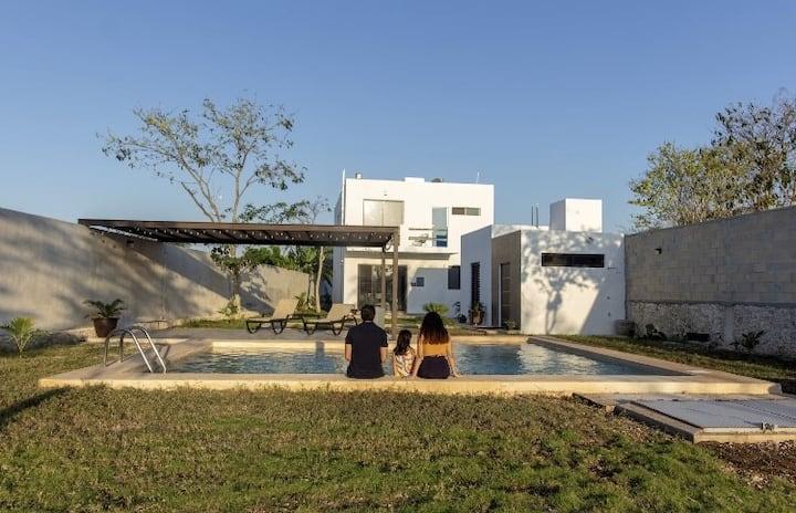 Chukum House with pool Merida Yucatan