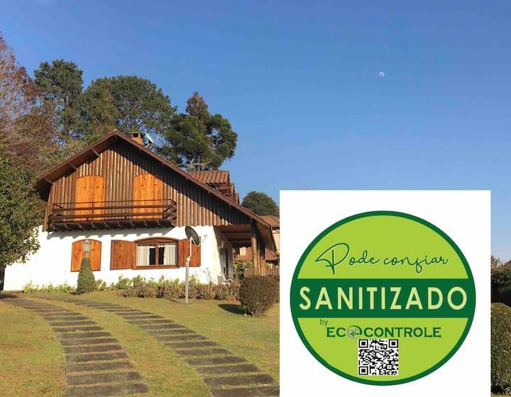 A melhor casa de Monte Verde! 🌲🌺🍁