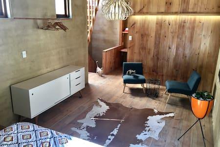 Designer Eco Loft with Views and Garage - Apartment