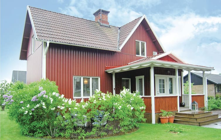 Holiday cottage with 2 bedrooms on 120m² in Hultsfred