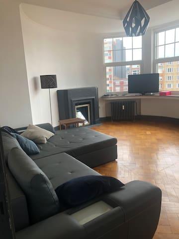 Outremeuse - appartement lumineux & chaleureux