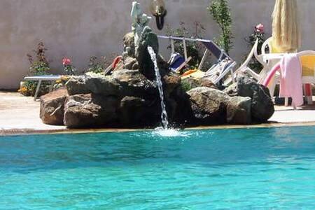 Appartamento con piscina ed idromassaggio termale - Forio - Huoneisto