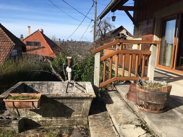 Maison dans le parc naturel des Bauges