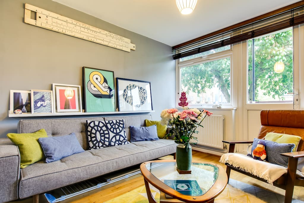 Colourful decor adds quirky feel