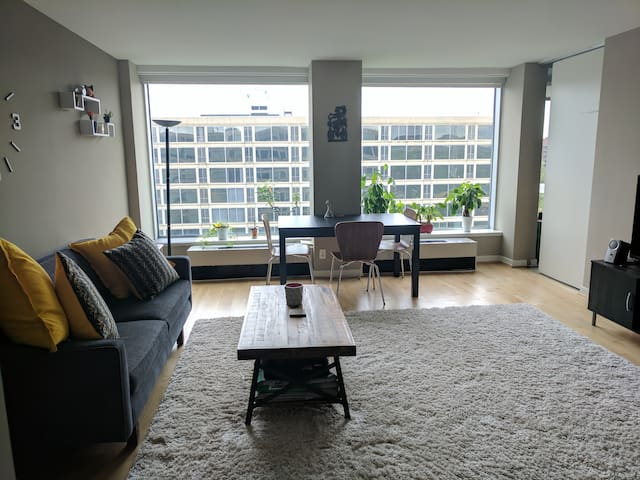 Cozy mid-century modern condo - Waterfront Metro - Washington - Condominium