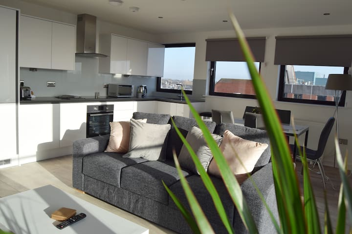 3 bedroom apartment with balcony