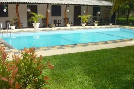 Sunrise Holiday Resort with pool Double AC (3) - Habarana