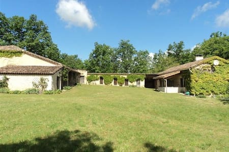 Maison - ancienne ferme sur la route des bastides