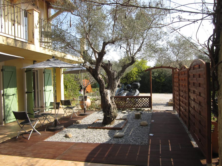 Jardin Zen - chambre standard