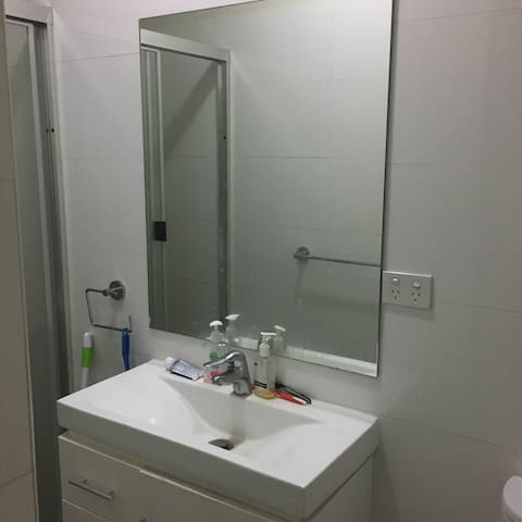 1 bed furnished with attach bath