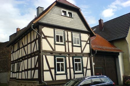 'bei Schmitts' near Lahn, Wetzlar and Giessen - Hüttenberg - Apartamento