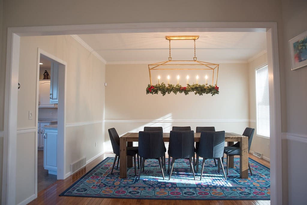 Formal Dining Room (seats 8)