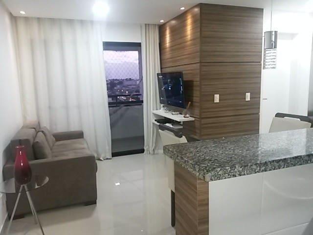 Apartamento próximo a tudo, limpo e organizado - Lauro de Freitas