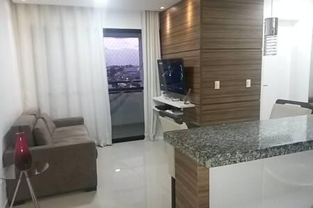 Apartamento próximo a tudo, limpo e organizado - Lauro de Freitas - Lejlighed