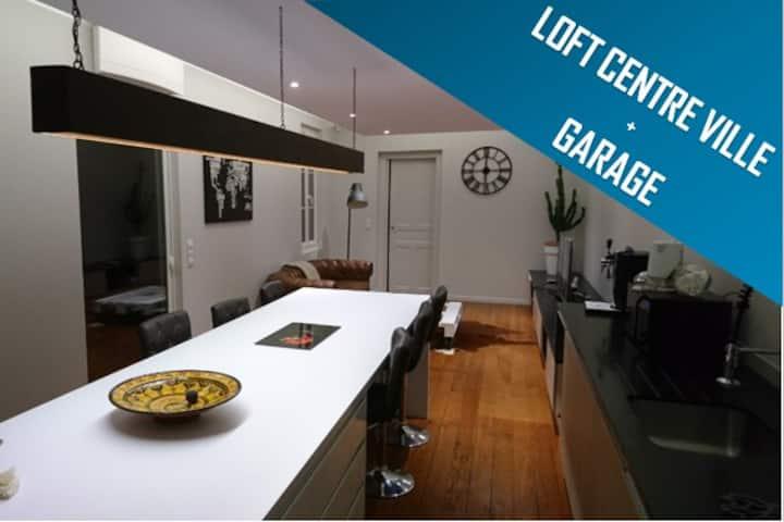 Confortable et moderne T2 bis de 70 m² avec garage