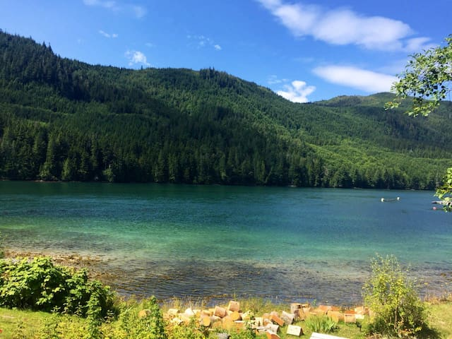 Orcas, bears & great fishing, OH MY! Remote cabins
