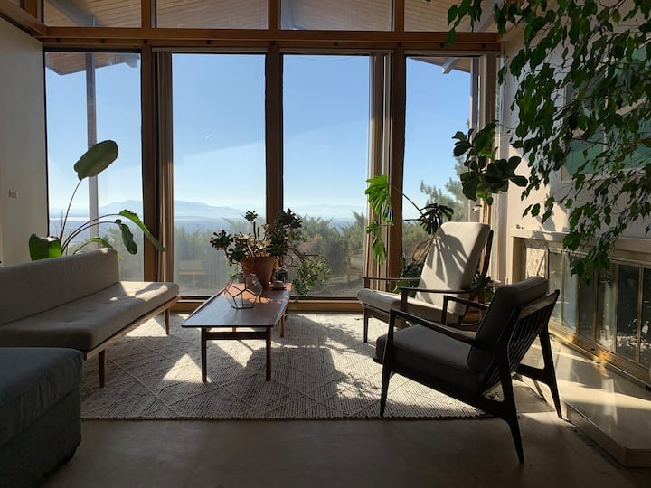 Updated mid century modern with views