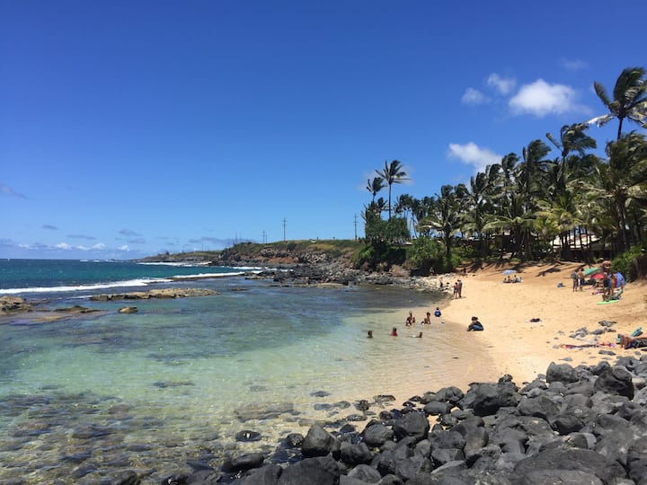 Maui's best wdsurf and surf by secluded beach+A C