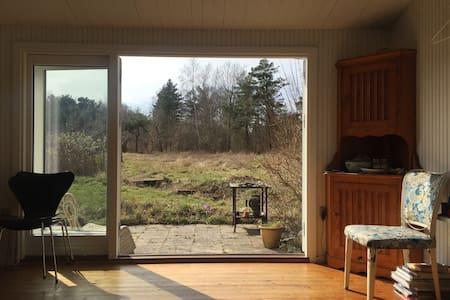 small cabin on large wild plot - Fårevejle