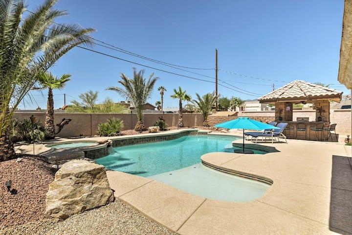 Family Home w/ Backyard Oasis - Lake Havasu 2 Mi!