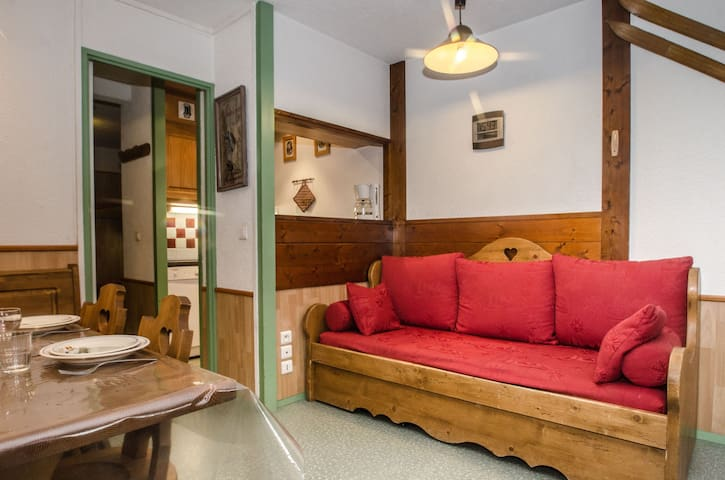 CHARMOZ - 2 room apartment for 2/4 people - CHAMONIX - Διαμέρισμα